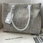 Tasche von Barbara Tschanen, Inhaberin des Labels 0714